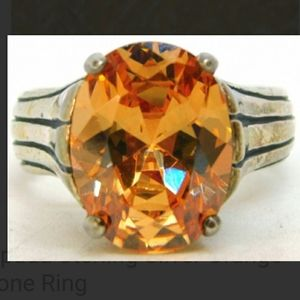 SILPADA GORGEOUS ORANGE RING